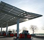 Güneş Enerjisi, Solar Enerji, Çatı, Benzin İstasyonu, GOEN